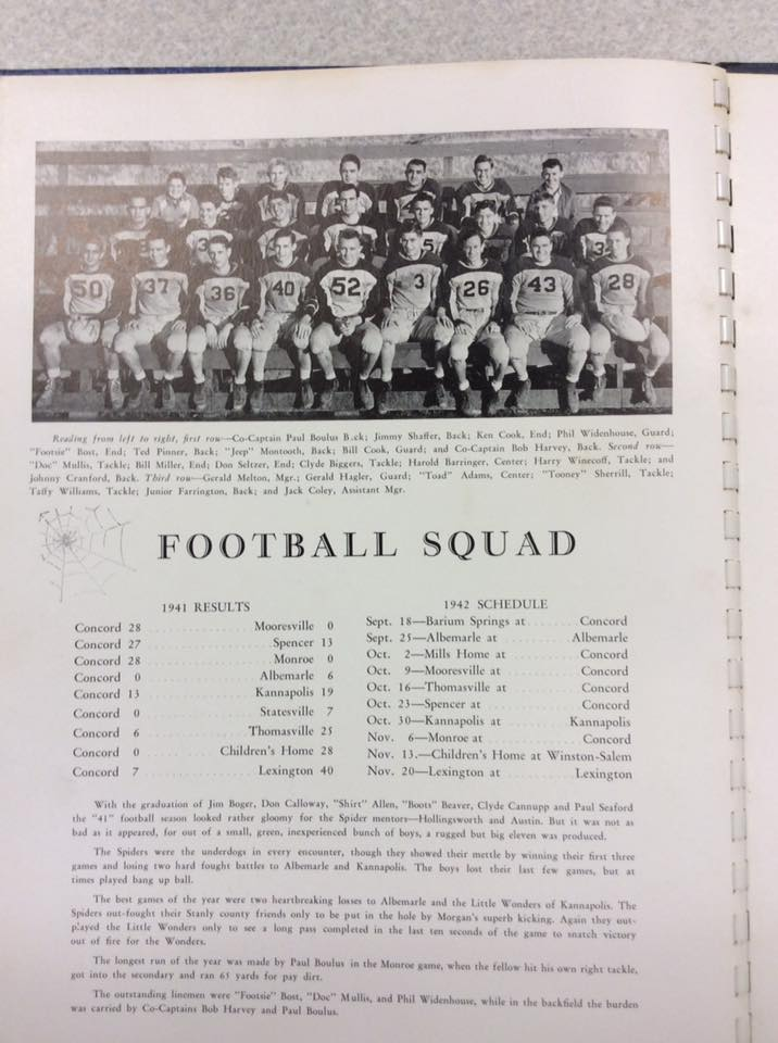 1941 Spiders Football